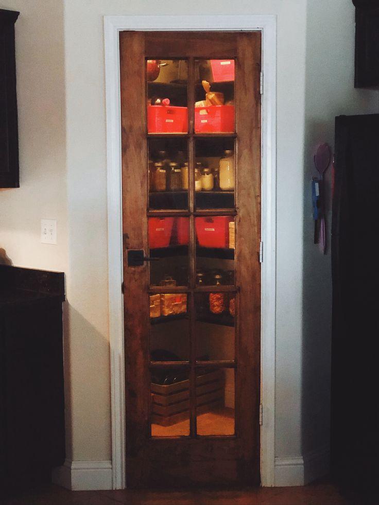 French door pantry design solid doors blogger decor