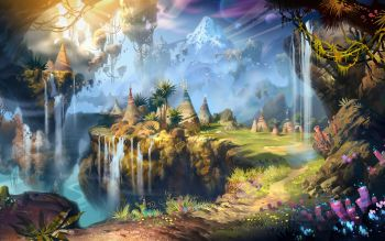 Fantasy - Landscape Wallpapers and Backgrounds