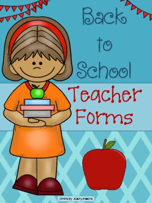 Back+to+School+Teacher+Forms+from+Ashley+Johnson+on+TeachersNotebook.com+-++(18+pages)++-+These+15+forms+will+help+get+your+school+year+started+off+right.+A+way+to+organize+end/beginning+of+the+day+procedures,+birthdays,+parent+volunteers,+contact+information,+and+party+sign-up+sheets.  ***These+forms+are+also+included+in+my+Back+to+School+Act