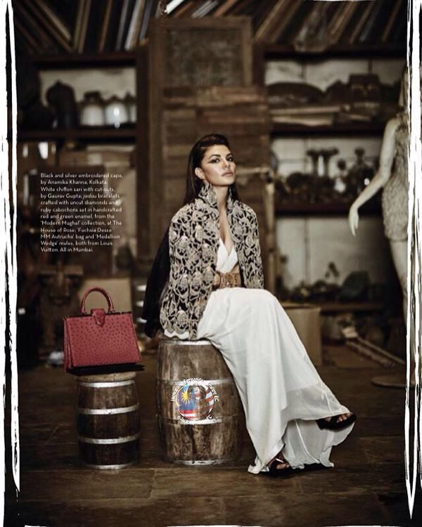 Jacqueline Fernandez pictures in Verve magazine September 2015 ❤️