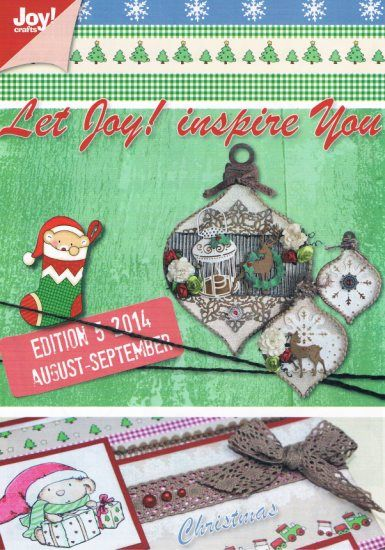 Joy Crafts Edition 5 2014 16 bladzijde vol inspiratie