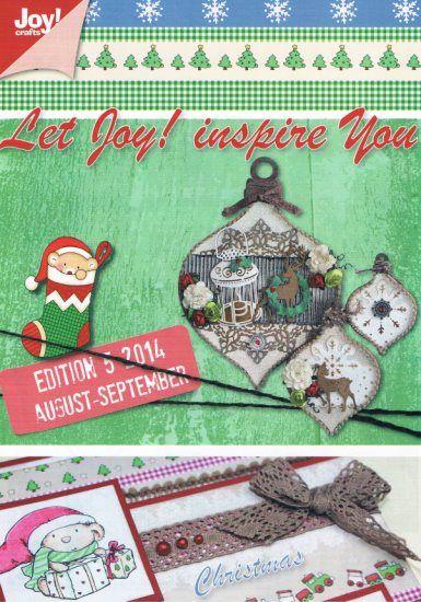 Joy Crafts Edition 5 2014 16 bladzijde vol inspiratie