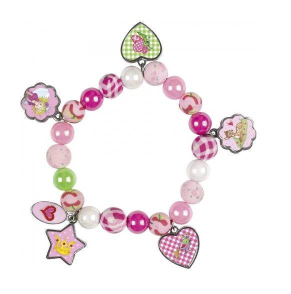 Encantadora pulserita con perlitas de colores y diseños de la princesa Lillifee para lucir guapas y coquetas.  Vienecon hilo extensible para adaptarse a diferentes tamaños.  REBAJAS en todos nuestros Juguetes en General. 30% de Descuento