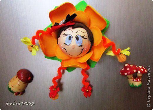 Ёлочные игрушки из фоамирана МК zholt_OK