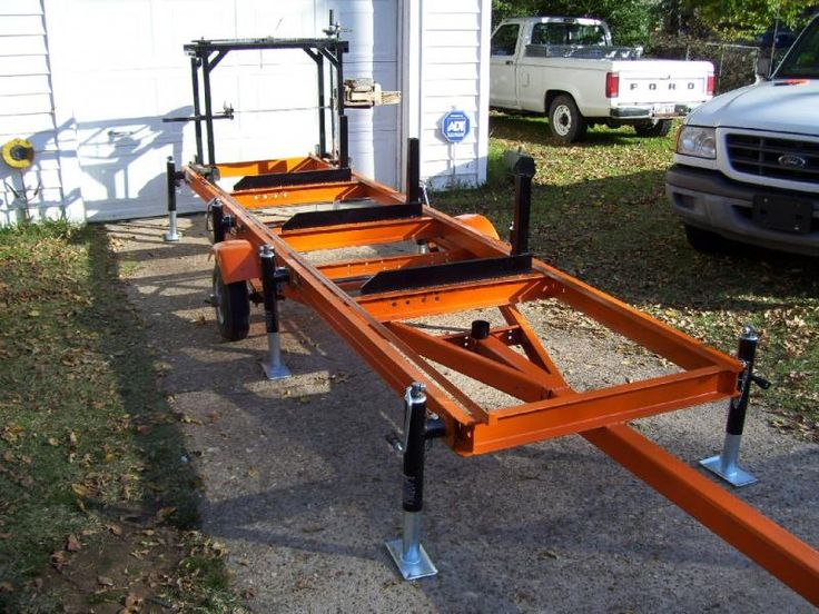 Home-Built Portable Chainsaw Mill