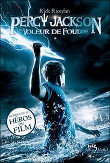 Message in the Bottle: Percy Jackson, T.1 Le Voleur de foudre – Rick Rior...