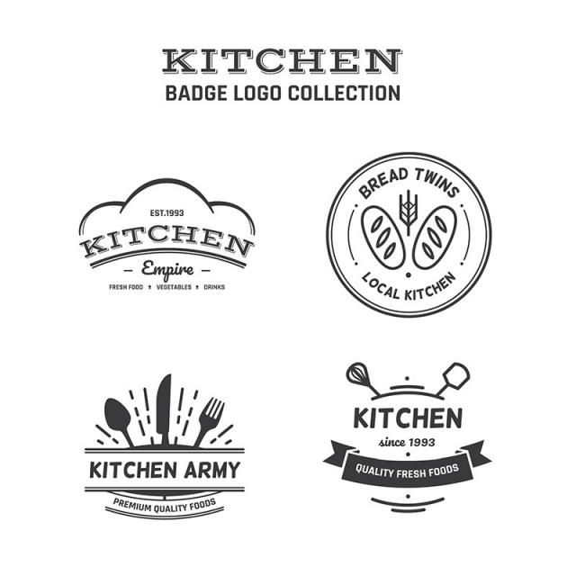Food Logo Collection Free Logo Design Template ออกแบบโลโก อาหาร การออกแบบโลโก ภาพประกอบ