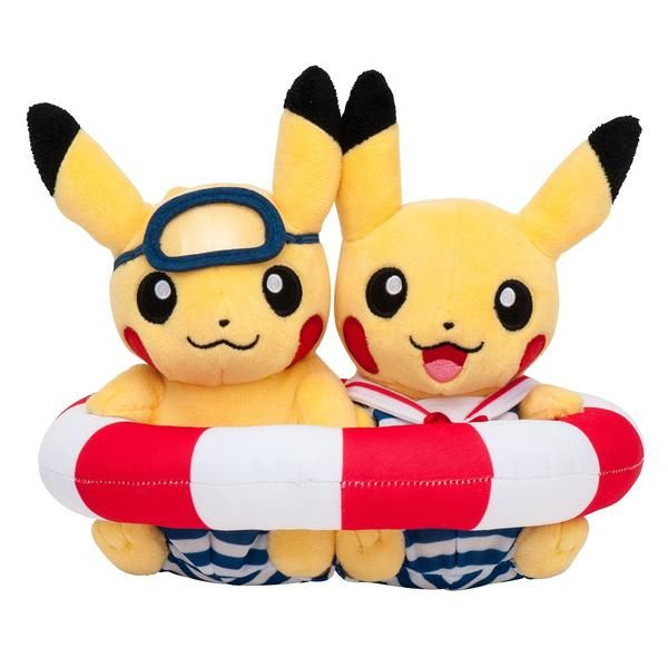 New Pokemon Center Japan's original monthly Pikachu pair plush doll. A limited edition of July 2016 sold ONLY in Japan. Limited quantity. Get this rare & cute Pikachu pair NOW! Come with Pokemon Center Original Plastic Bag for FREE. We ship our products Worldwide.  Product Information:  Condition: New Size: approximately 15×20×17(H×W×D:㎝) Manufacturer recommended age: > 3 years Exclusive Pokemon Center Plush Comes with original tag Very Soft and cute! (C)Nintendo・Creatures・GAME FREAK・T...