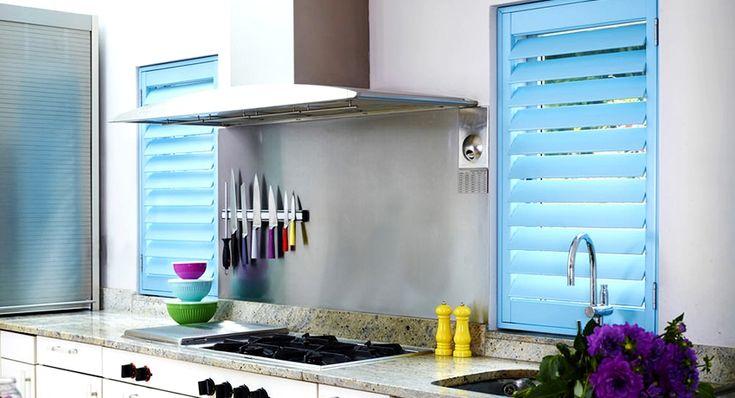 Жалюзи на кухню: стильный элемент декора в современном интерьере http://remoo.ru/okna-i-dveri/zhalyuzi-na-kuhnyu