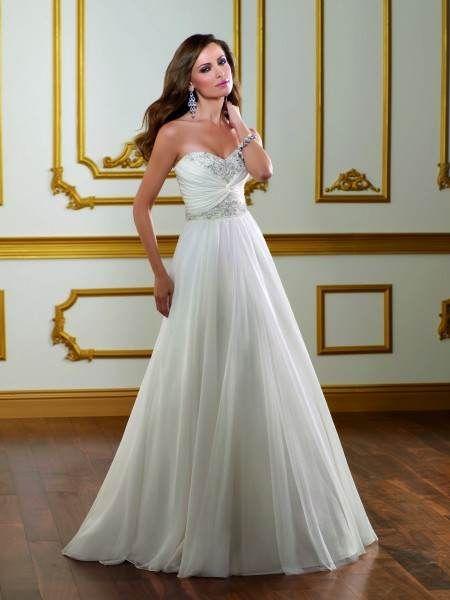 Vestidos Largos Blancos para Novia - Para Más Información Ingresa en: http://vestidosdenoviaoriginales.com/vestidos-largos-blancos-para-novia/