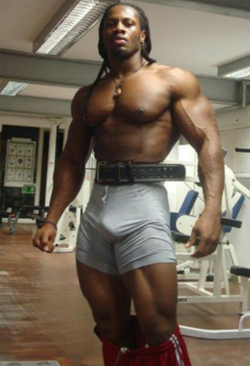 Muscle Does The Body Good  Black Men  Bodybuilding -4200
