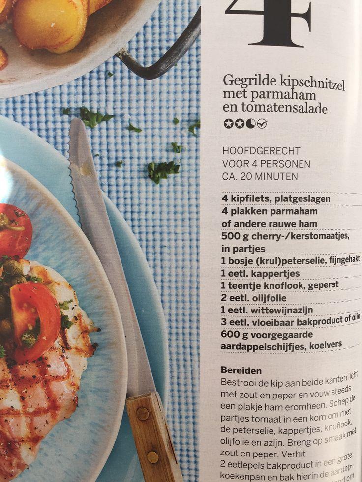 Kip schnitzel met parma