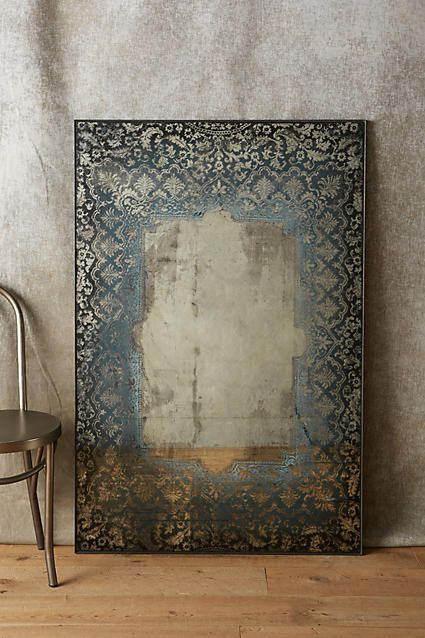 Dissolved Lace Mirror - anthropologie.com