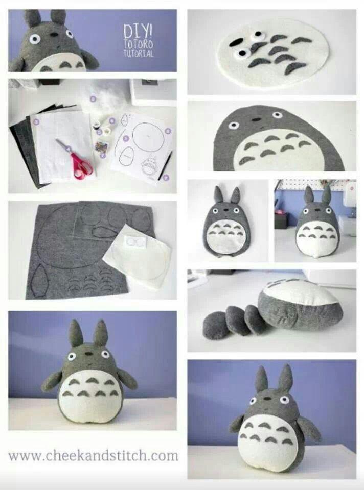 Diy Totoro