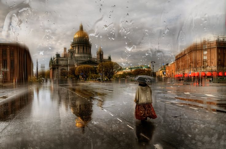Фотография rain in the city..... автор Ed Gordeev на 500px