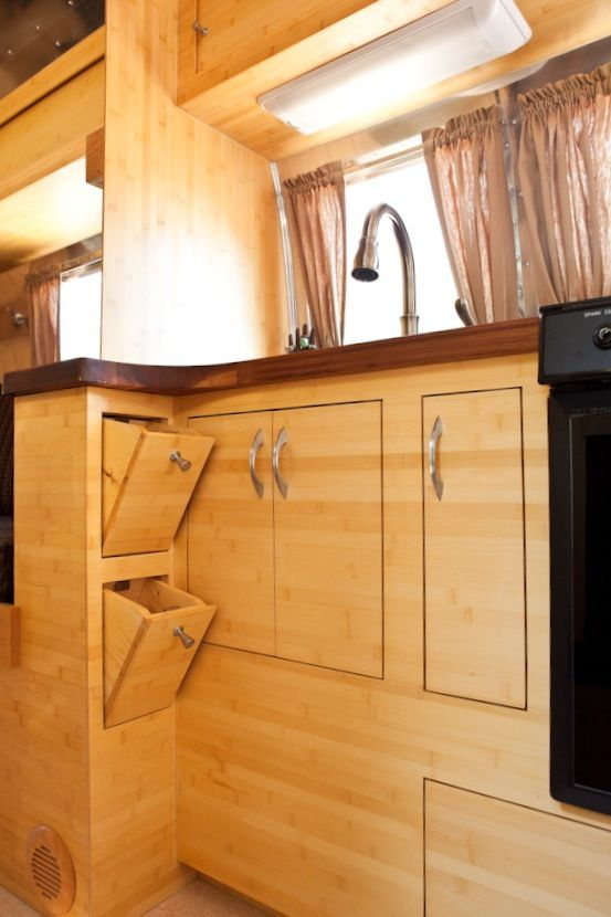 green airstream makeover to connect with us and our On bamboo kitchen cabinets australia