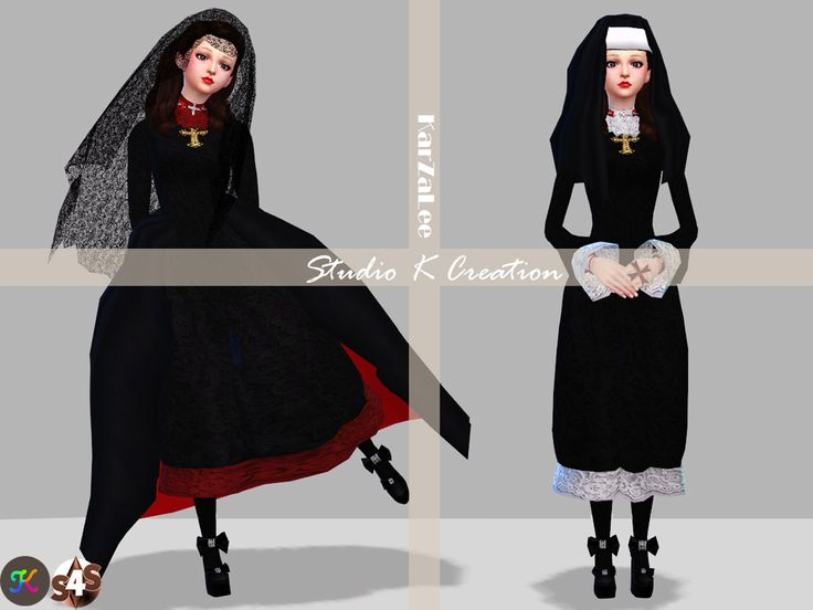 [DarkSouls] nun's outfit