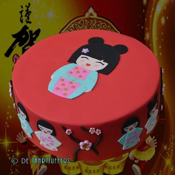 Geisha cake