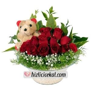 Oyuncak & Kırmızı Güller  Hızlı Çiçek Al ile sevdiklerinize aynı gün teslimat seçeneği ile cam kase içinde 12 adet kırmızı güller ve oyuncak peluş sipariş edin.  79,00 tl + kdv  http://www.hizlicicekal.com/cicekler/cicekciler/cicek/64/oyuncak--kirmizi-guller/