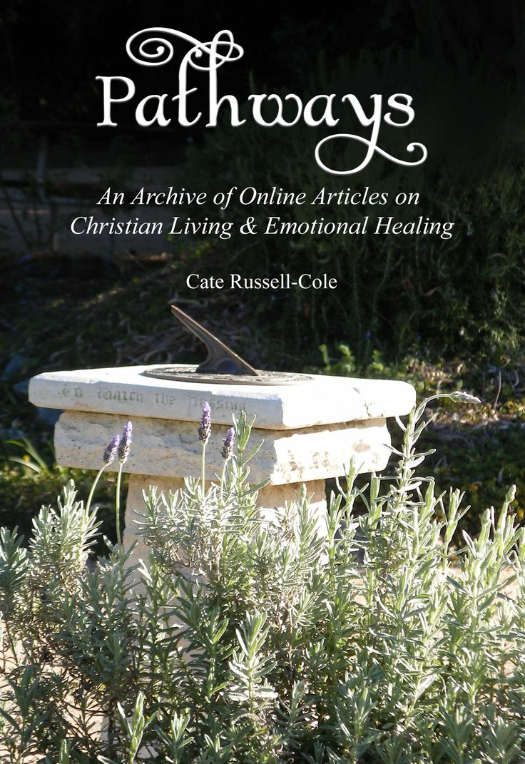 Pathways is a collection of the best of Cate Russell-Cole's published psychology-based relationship, emotion and Christian living feature articles, which were written between 1995 and 2016. Many of these articles were written for outreach publications, and thus, are not heavily 'preachy.' Regardless, this is a non-denominational Christian book. It may not suit more individualised Christian sectors and will not be useful for other religions.  © 2016 Creative Commons Attribution-ShareAlike 3.0…