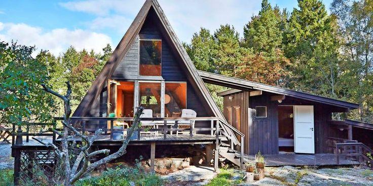 SANDEFJORD: Neida, en hytte må da ikke være firkantet.