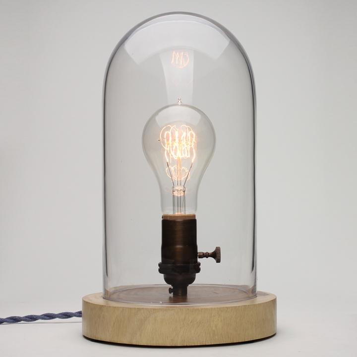 Bell Jar Lamp   Old Faithful Shop