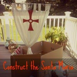 K-2 Columbus Day lesson: build the Santa Maria in your back yard, construct a compass for play navigation. + other Columbus / exploration activities heavy in role playing and storytelling.