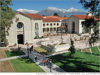 Claremont,  Calif. The City of Trees and Ph.Ds. #5 in Money Magazines 100 Best Places to LiveCampus Center, Claremont Colleges, Money Magazines, 100 Places, Smith Campus, Pomona Colleges, Magazines 100, Magazine'S Tops, Google Search