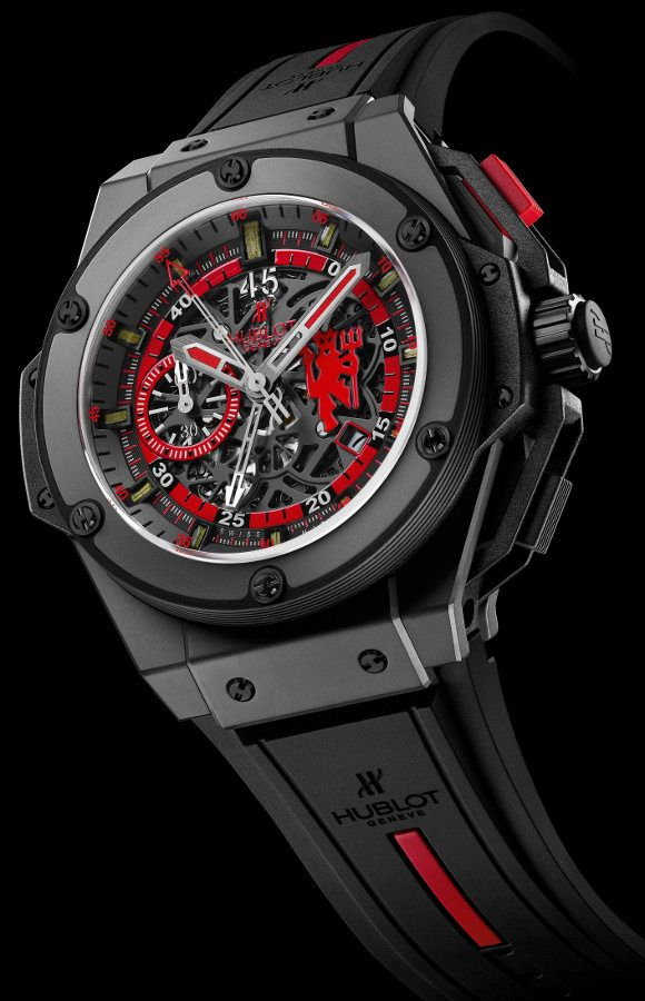 The Hublot Red Devil Watch, for the Man United fan who has everything. A steal at $26,900.