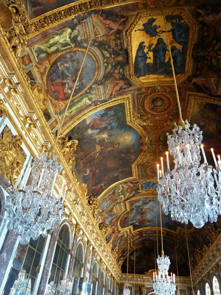 Hall Of Mirrors // Versailles, France