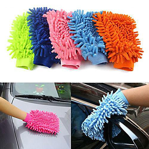 Super Mitt Microfiber Car Window Washing Home Cleaning Duster