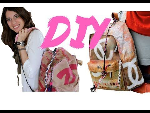 DIY Como hacer una Mochila de cordón   Fashion Riot - YouTube