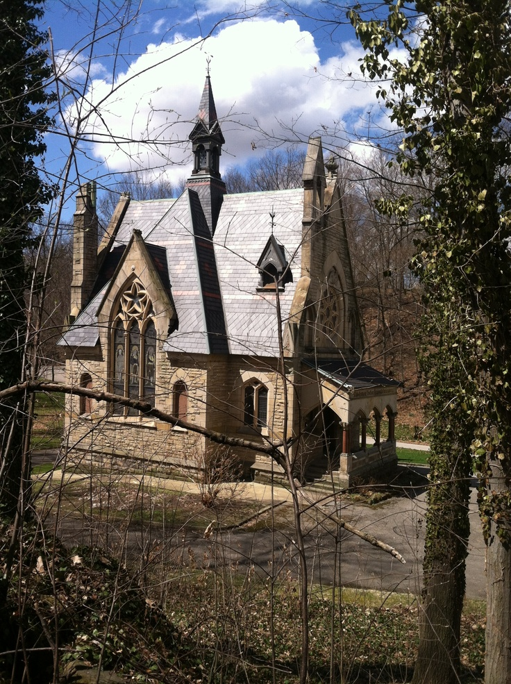civil war chapel,glendale cemetery,akron ohio