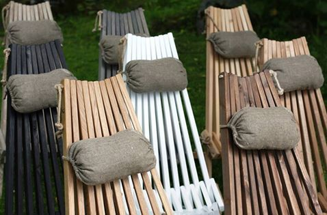Outdoor Organic Chaises Longues