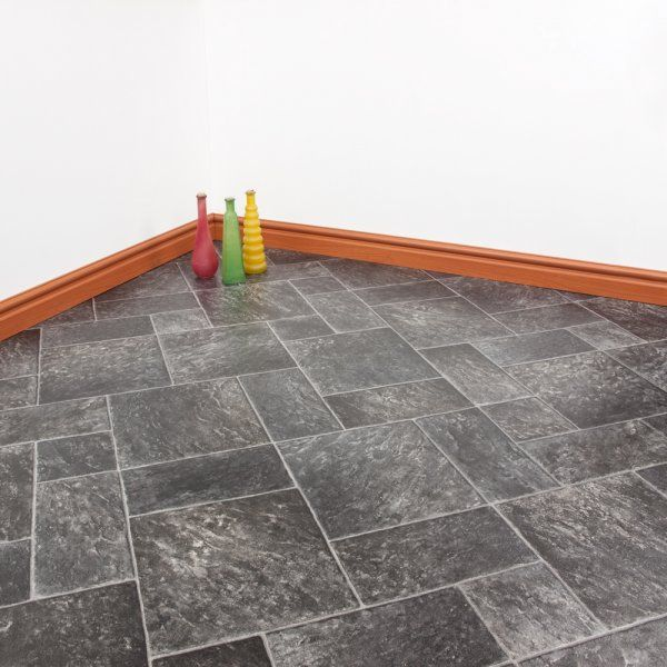 Our Monarch Coral Vinyl has that unique herringbone effect, without the hassle of installation. Trust us, getting this sort of pattern with real tiles or wood can be an absolute nightmare. Take the handy shortcut and get our quality vinyl. It's embossed, tough, and water resistant, and most importantly of all, it really looks the part!