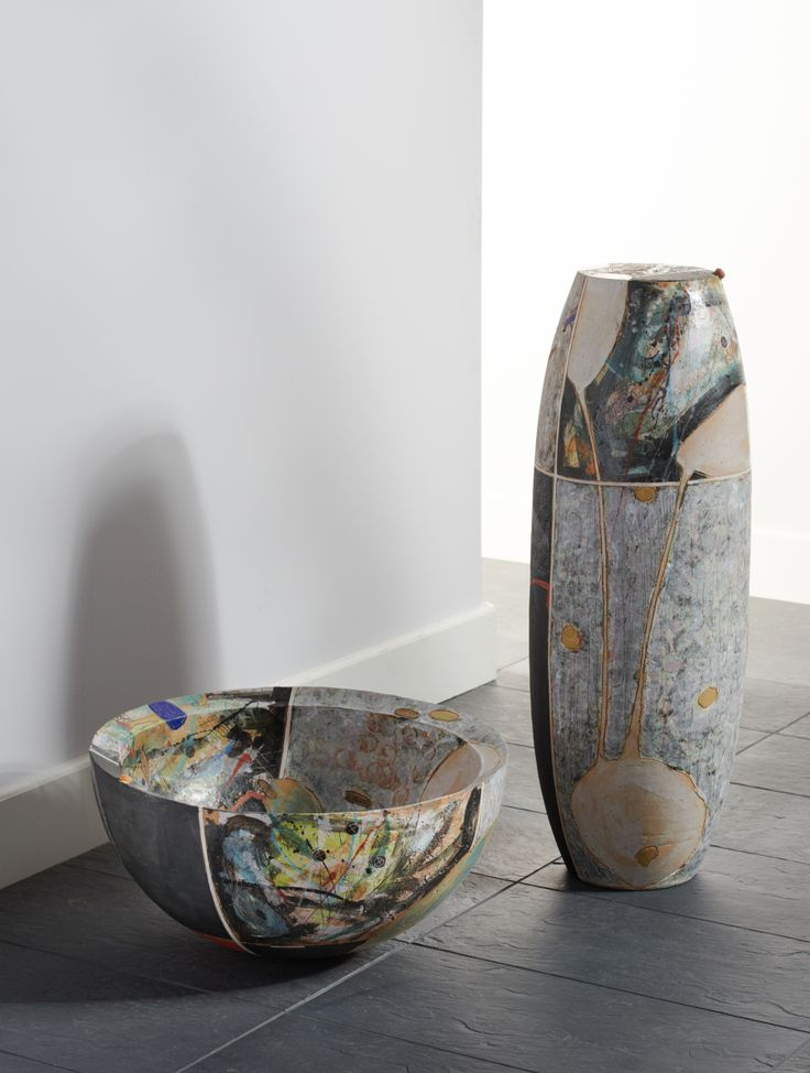 """Ceramic Objects """"Column and Bowl"""" Ines & Christoph ..."""