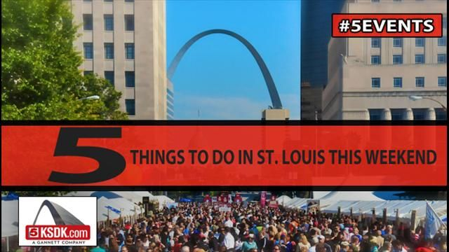 5 things to do in st louis this weekend st louie pinterest this weekend news. Black Bedroom Furniture Sets. Home Design Ideas