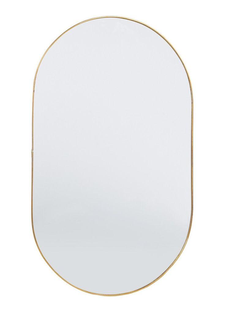 &Klevering Round Gold spiegel 43 cm • de Bijenkorf