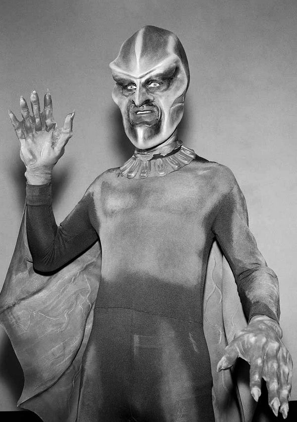 """The """"Ebonite"""" from The Outer Limits episode, """"Nightmare.""""  When I was little, these guys scared the piss out of me..."""