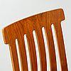 """JAN HALLBERG, stolar, 4 st, """"Tallåsenstolen"""", 1950/60-tal. - Bukowskis"""
