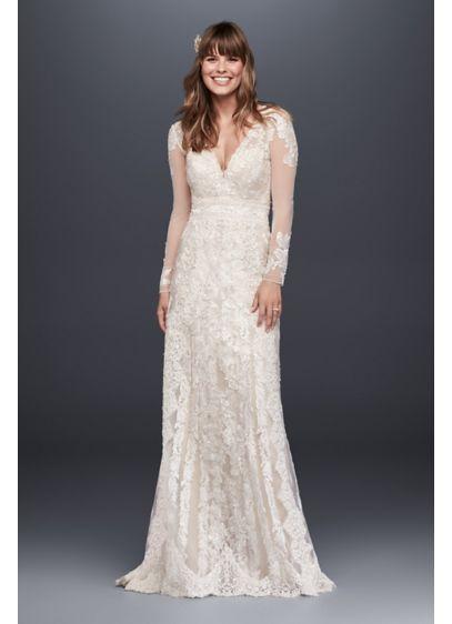 Melissa Sweet  Linear Lace Wedding Dress MS251173