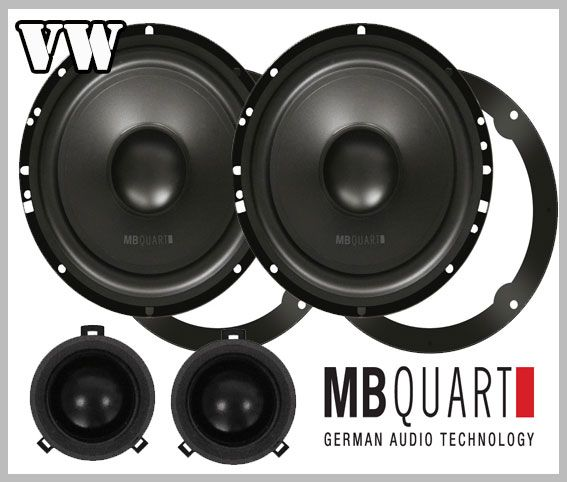 VW Polo IV 9N 9N3 car speakers front doors loudspeaker MB Quart http://www.car-hifi-radio-adapter.eu/en/car-speaker/vw/vw-polo-iv-9n-9n3-helix-db-car-speakers-front.html - Car Hifi Radio Adapter.eu