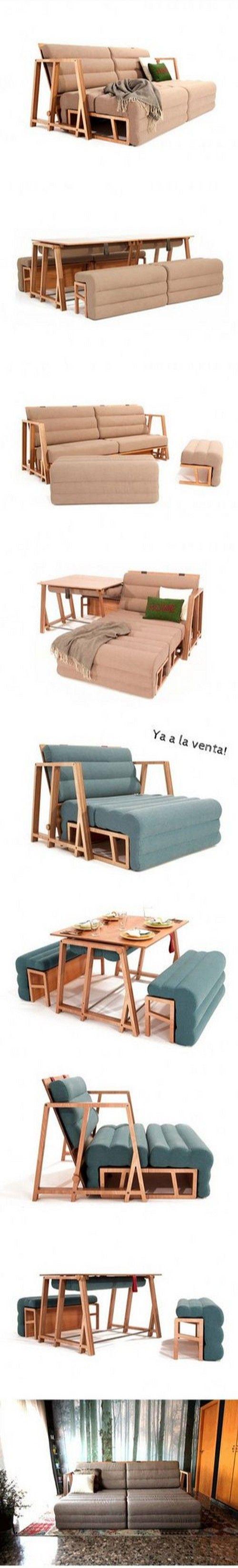 Трансформируемая мебель. Convertible furniture.