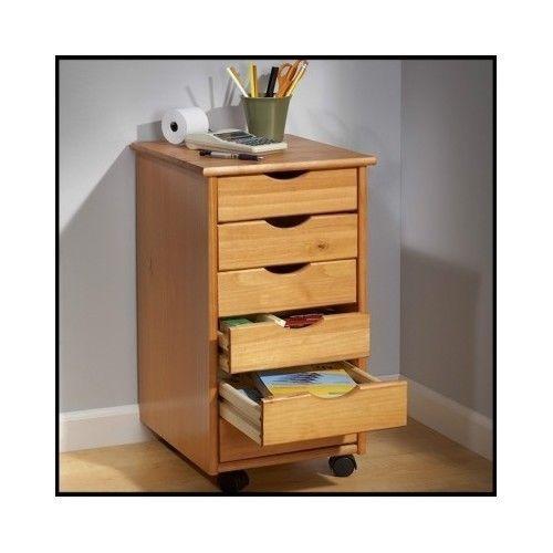 Rolling-Storage-Cart-Drawer-Organizer-Wheels-Office-Home-Utility-Craft-Scrapbook