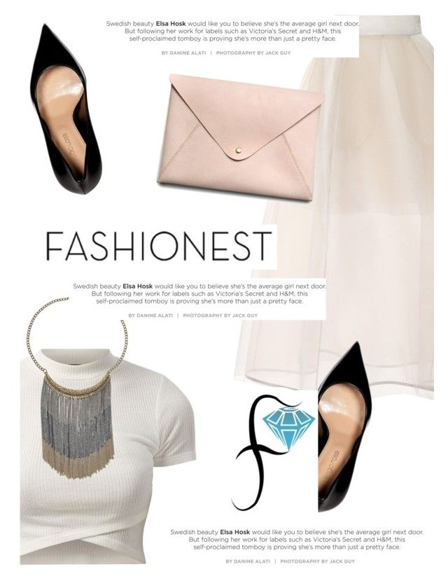 """""""Fashionest: Trendy Fashion Jewelry"""" by antemore-765 ❤ liked on Polyvore featuring Delpozo, Sergio Rossi and HarLex"""