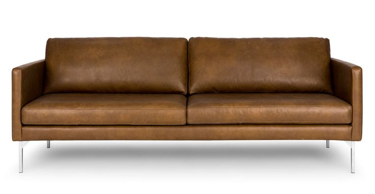 Echo Oxford Tan Sofa - pls make this in vegan leather!