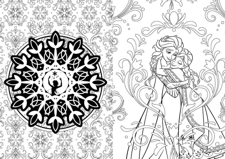 New Disney And Star Wars Art Therapy Adult Coloring Books
