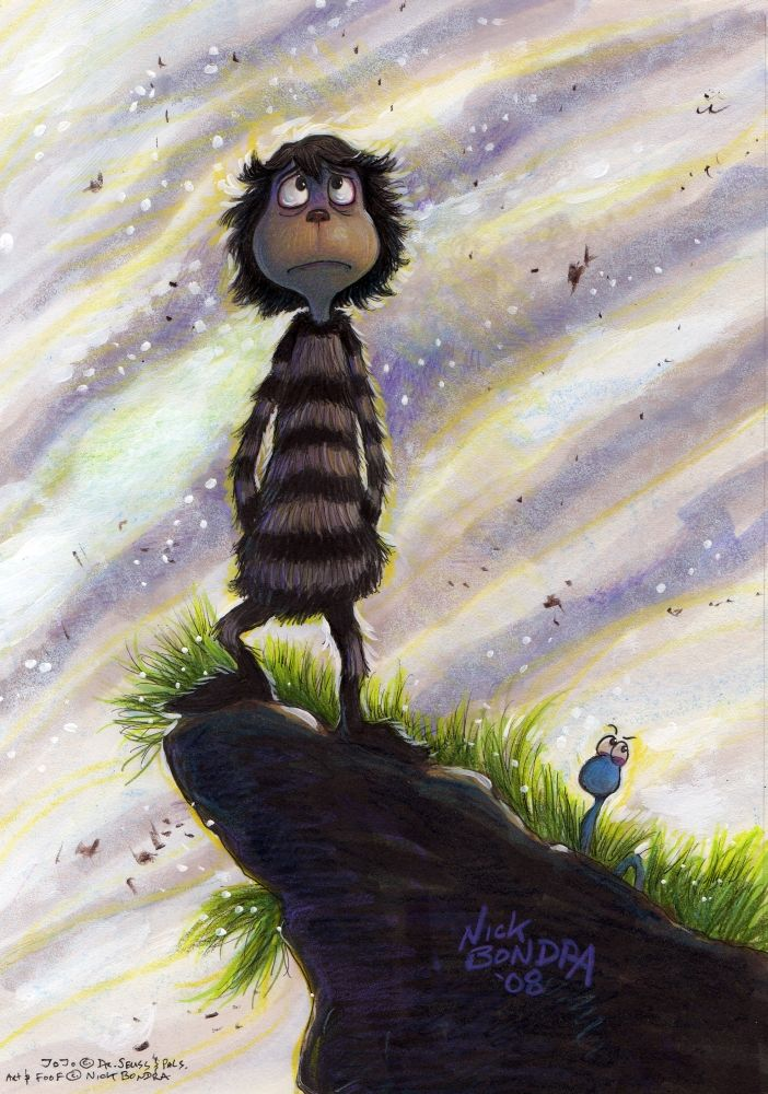 After The Third Viewing Of The Jojo Movie Err Horton Hears An Egg I Sorta Had This Image In Mind I Can Horton Hears A Who Jojo Dr Seuss Movies