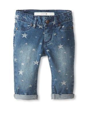 41% OFF Joe's Kid's Star Print Pirate Cropped Jeans (Indigo Star)