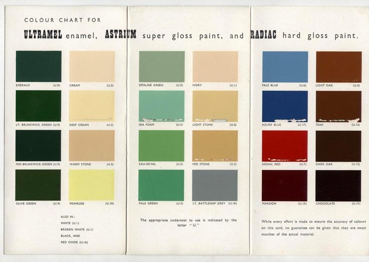 84 Best Color Charts Images On Pinterest